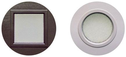 Новый облик гаражных ворот — окна с кристаллическим остеклением от ГК «АЛЮТЕХ»