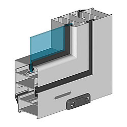 Sistema balkonnogo osteklenija ALT100