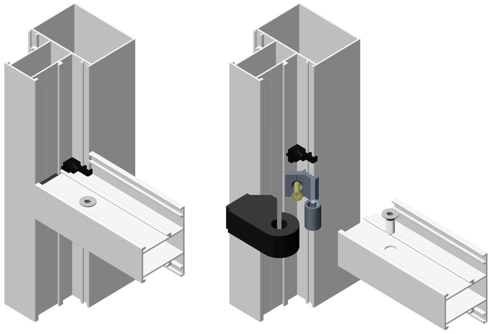 инструкция по монтажу системы алютех витражи alt f 50