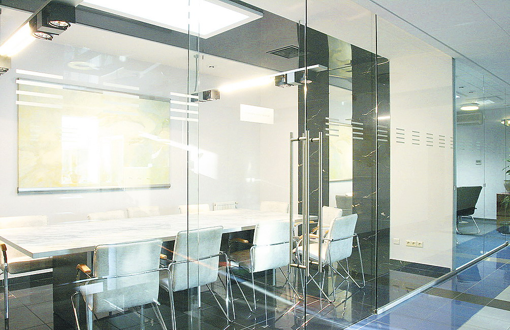 Glass partition walls interior design ideas Interior glass partition systems