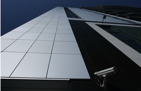 Cases from composite panels and aluminum