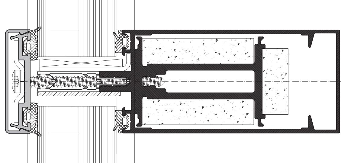 Задать вопрос Стоечно-ригельный противопожарный фасад ALT F50 FR