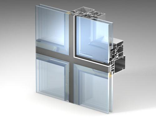 Интегрированное окно типа «скрытая створка»