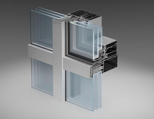 Интегрированное окно типа «скрытая створка» с улучшенными теплотехническими характеристиками