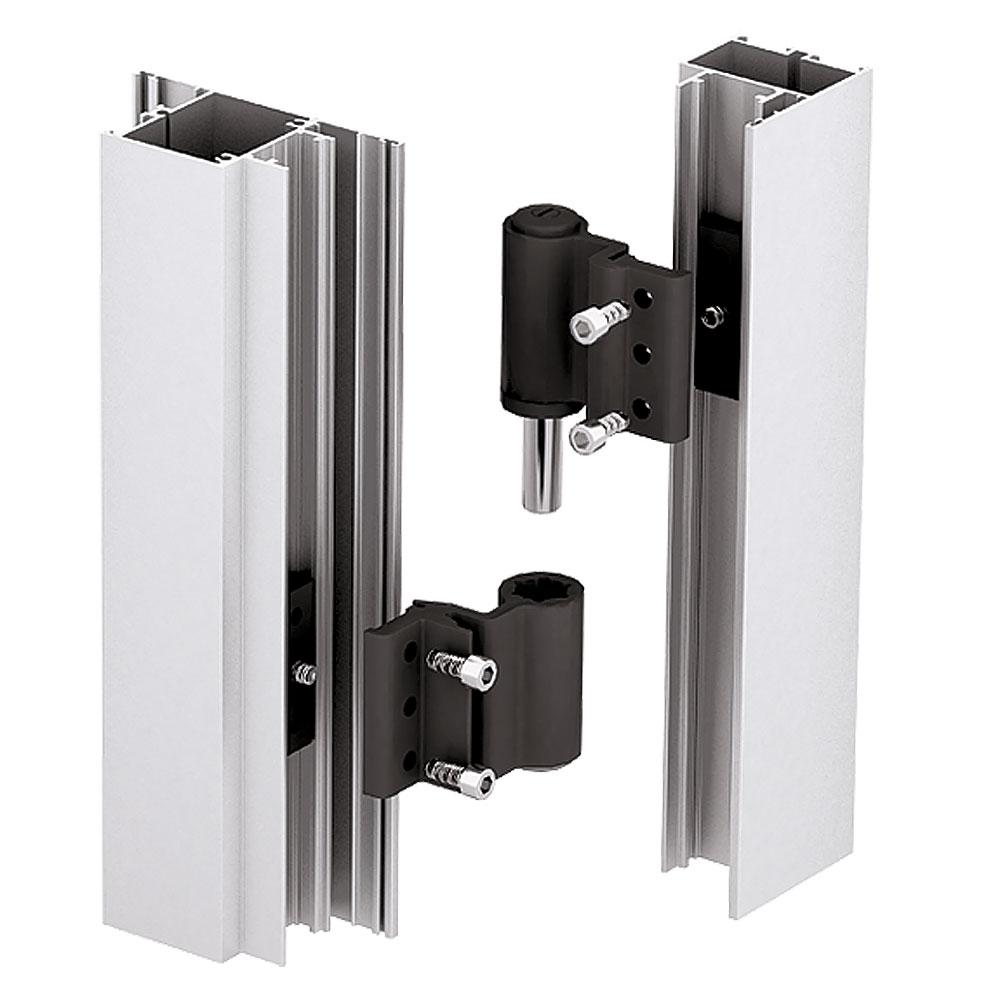 Система ALT С48. Установка пазовой дверной петли