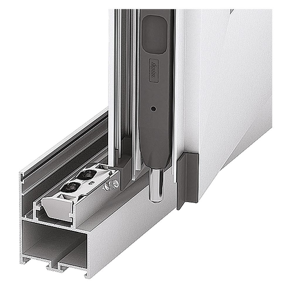 Система ALT С48. Установка дверного шпингалета и ответной части