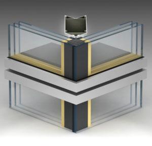 Несколько видов исполнения угловых модулей