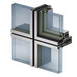 Integrirovannoe okno tipa «skrytaja stvorka»