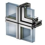 Integrirovannoe okno s vidimym krepleniem steklopaketa