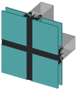 Внешний вид фасада ALT F50 SG