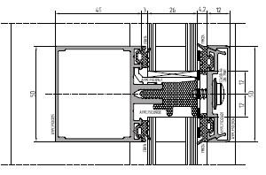 Строгий функциональный фасад в стиле «hi-tech»