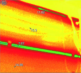Thermovisor images