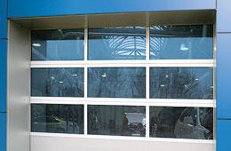 Типы полотна панорамных ворот серии AluPro