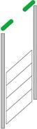 Вертикальный монтаж с верхним расположением вала