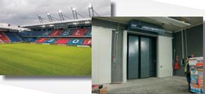 Футбольный стадион. Краков (Польша)