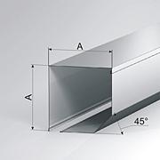 Защитный короб 45°, серия SB 45