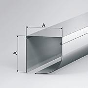 Короба защитные полукруглые, серия SB-P/QRE