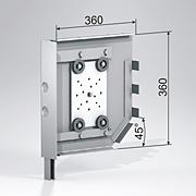 Стальные боковые крышки SF360/S