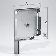 Алюминиевые боковые крышки 20°