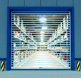 Высокий уровень светопроницаемости ворот RapidRoll® 3000 GL позволяет более эффективно использовать естественное освещение.
