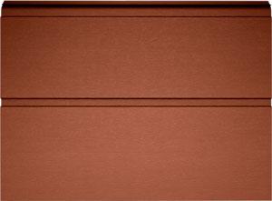 Сэндвич-панель L-гофр цвета RAL8014 (коричневый)