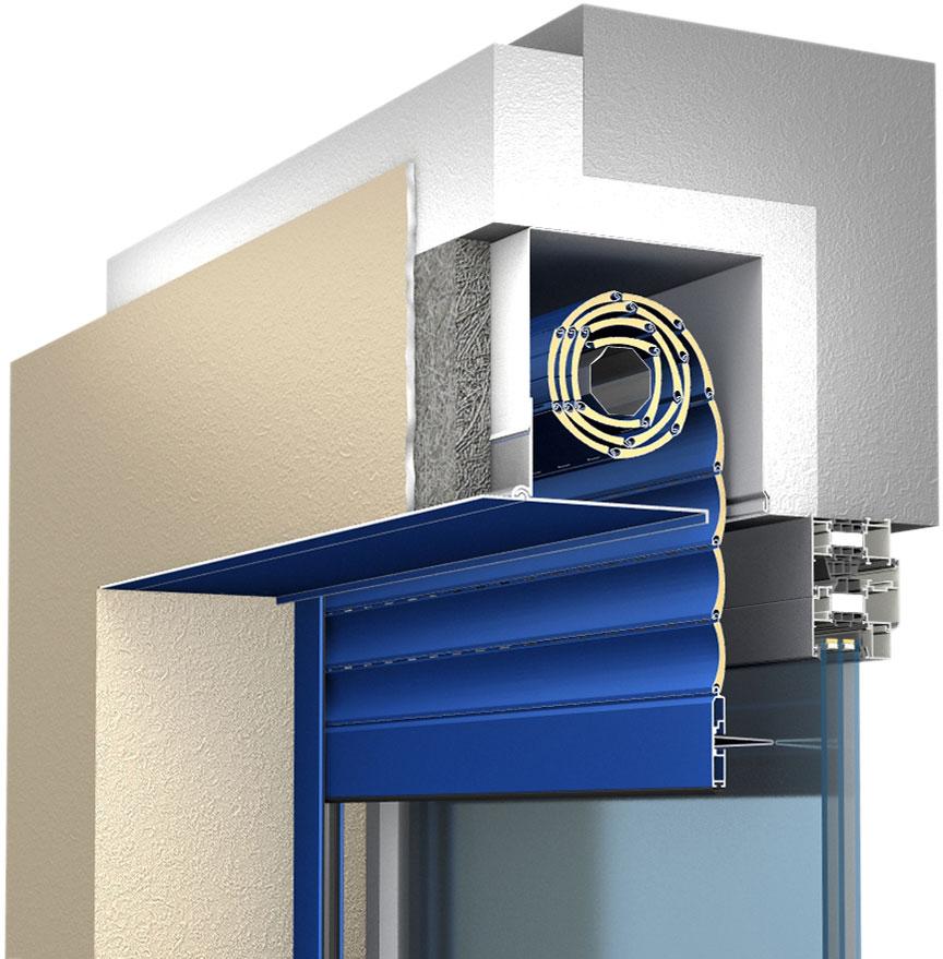 New Built In Shutter Box Sbi M Alutech