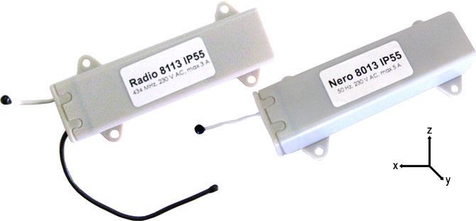 Новые устройства управления роллетными системами Radio 8113 IP55 и Nero 8013 IP55
