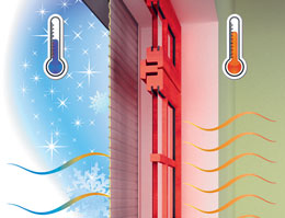 ALUTECH roller shutters: heating and conditioning costs saving