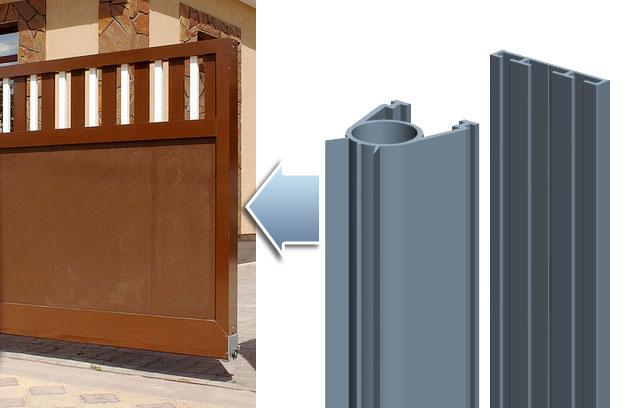 Демпфирующий элемент для откатных ворот серии ADS400