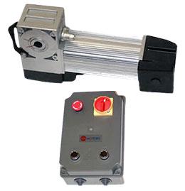 ASI100KIT – комплект навального привода для автоматизации промышленных ворот до 30 кв. м с интенсивностью эксплуатации до 60%