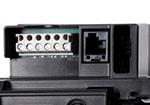 Удобное подключение аксессуаров (клеммная колодка расположена снаружи привода)