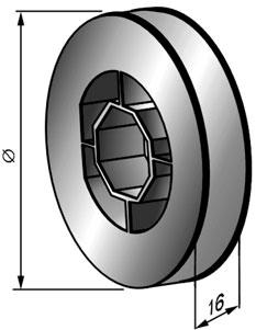 Новый шкив для роллетных систем TP140;