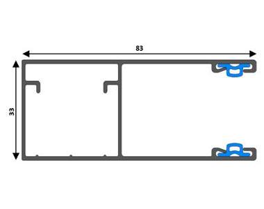 Новая шина направляющая GR83x33(I)/eco