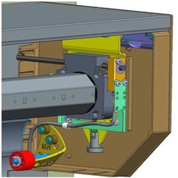 Система S-NHK, смонтированная внутри короба