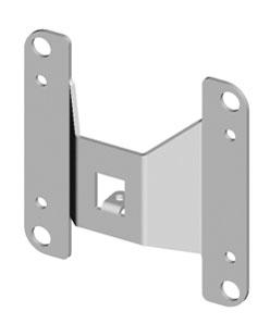 Для более удобного монтажа роллет модернизирована пластина крепления PLA100