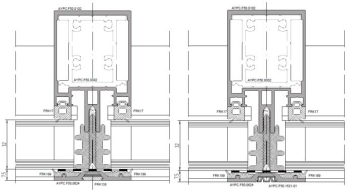 Новые решения для идеальных фасадов: расширен ассортимент системы ALT F50 SSG