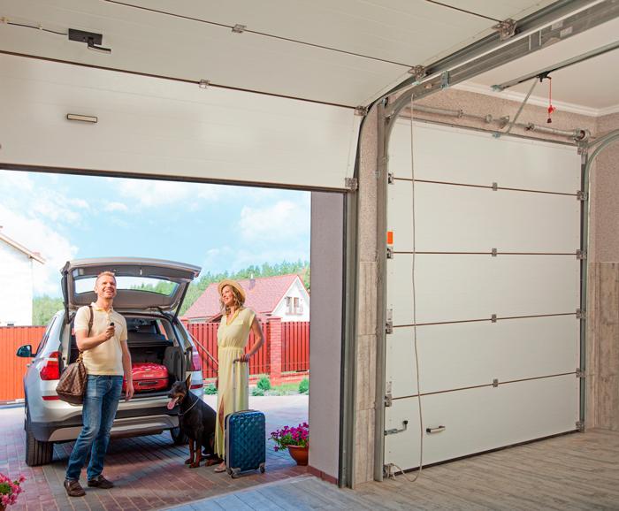 Ассортимент гаражных ворот «АЛЮТЕХ» дополнен новыми размерами конструкций