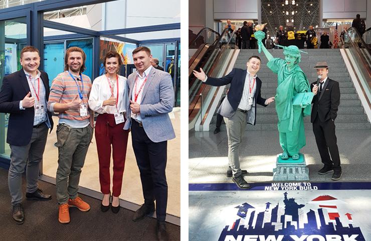 Уверенный шаг за океан: Группа компаний «АЛЮТЕХ» приняла участие в международной строительной выставке NewYorkBuild 2018