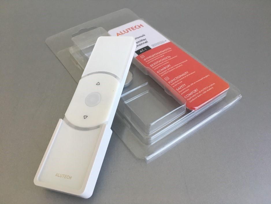 Стильные детали: новая упаковка пультов ALUTECH для роллетных систем