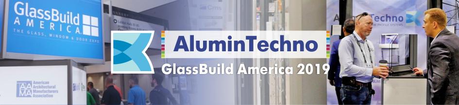 «АлюминТехно» на выставке GlassBuild America 2019 в Атланте
