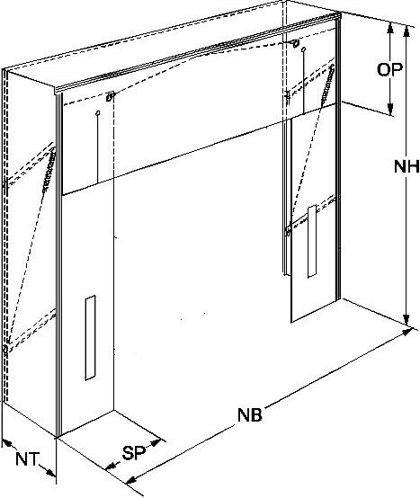 Ворота для еврофуры размеры