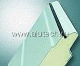 Профиль роликовой прокатки с твёрдым пенным наполнителем