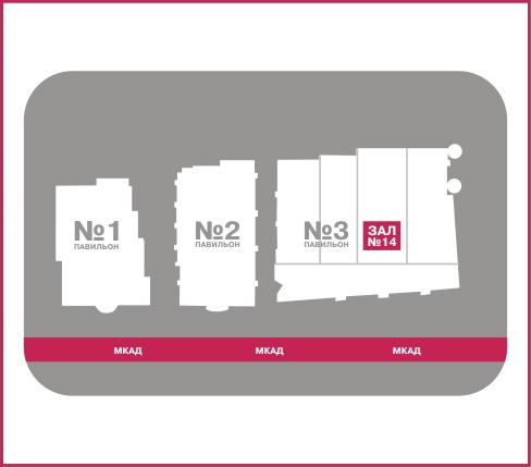 Схема проезда к МВЦ «Крокус