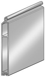 Концевой профиль ESU8 x 60E