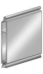 Концевой профиль ESU8 x 60BE