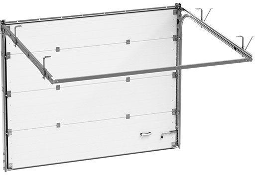 teh1 - Секционные гаражные ворота