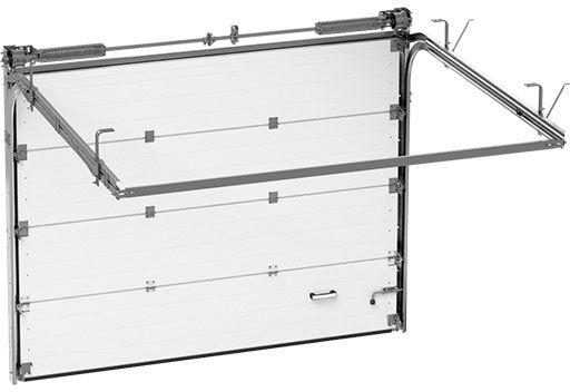 teh2 - Секционные гаражные ворота